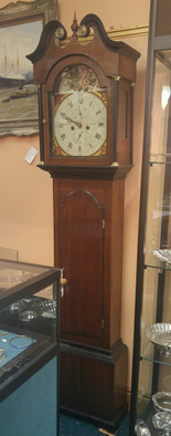 Oak Tall Case Clock