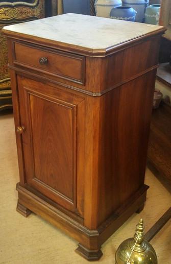 Walnut Side Cabinet