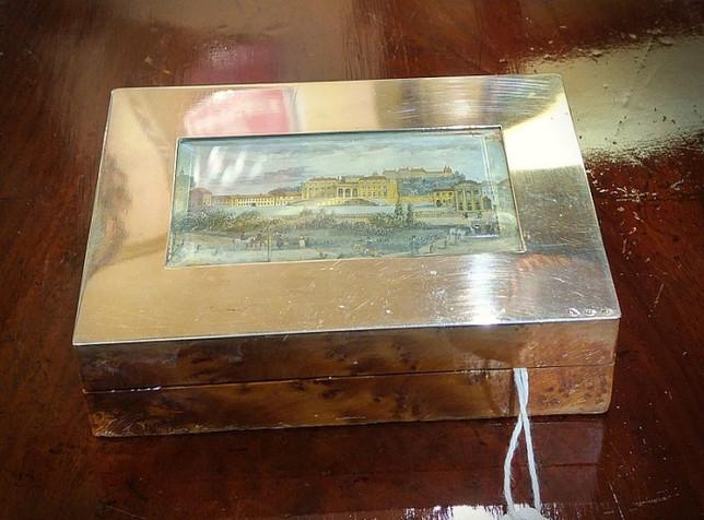 925 Continental Silver Box