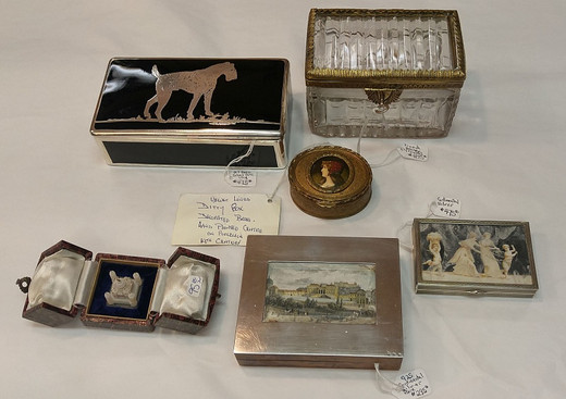 Antique Ditty Boxes