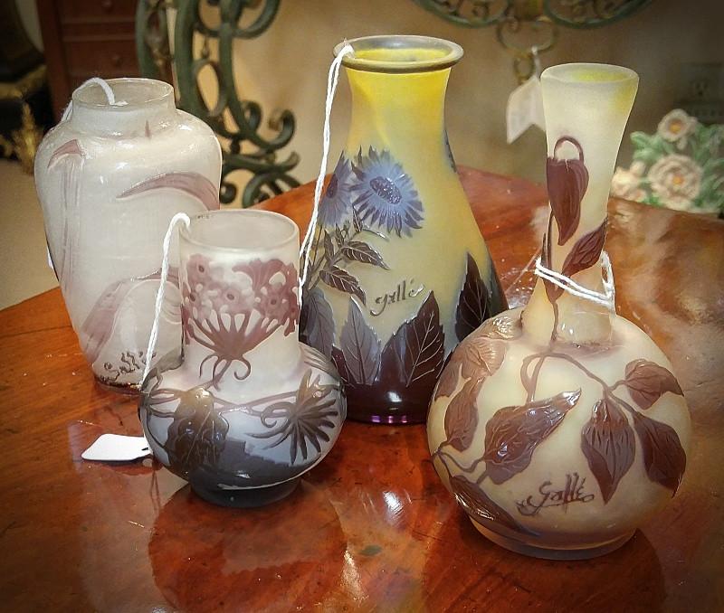 Glass Vases & Urns