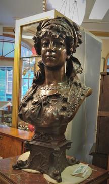 Female Bronze Bust