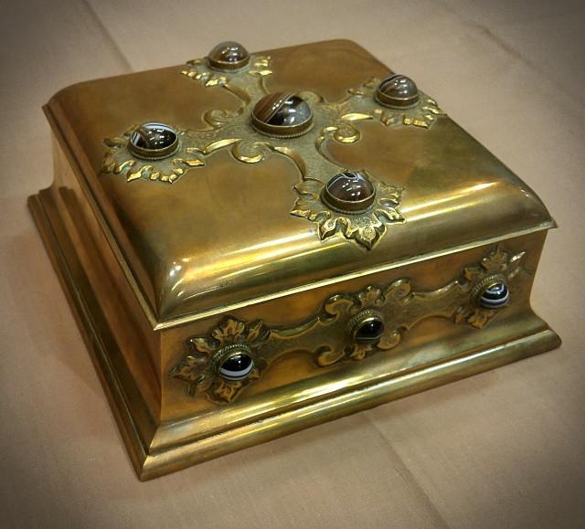 Brass Jewel Box