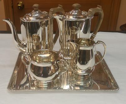 English Sterling Coffee Set