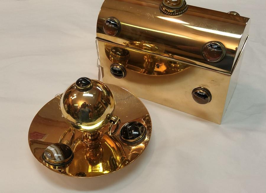 Brass Letter Box Set