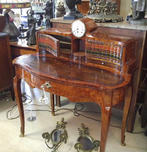 Bronze & Marquetry Desk