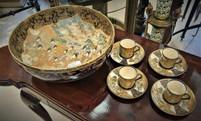 Satsuma Bowl & Tea Set