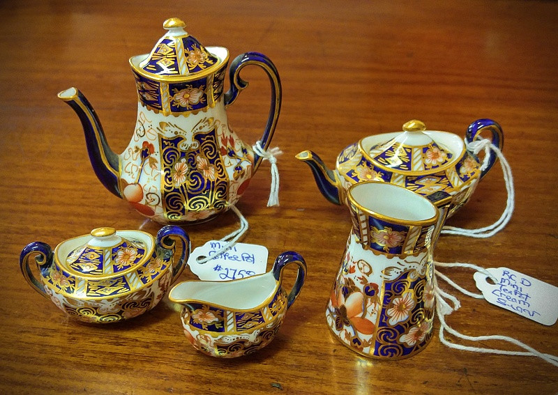 Royal Crown Derby Miniatures