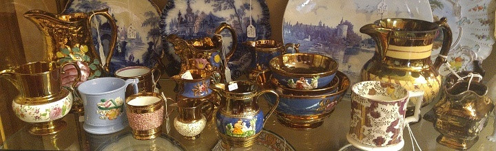 Copper Lustre Collection