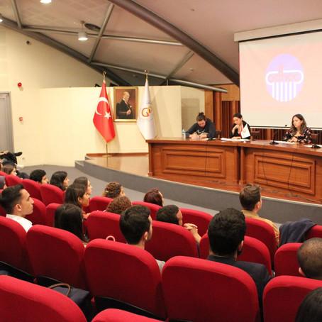 ADHOC Derneği Meclis Simülasyonu Çalıştayı Galatasaray Üniversitesi'nde Yapıldı