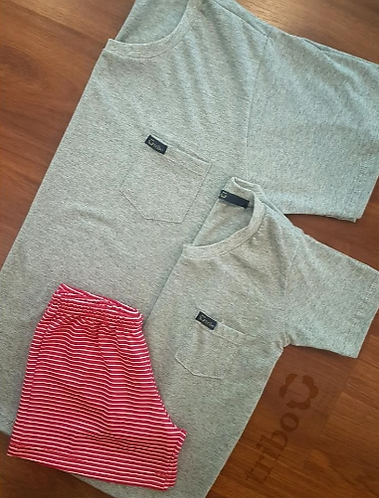 Pijama Masculino Liso