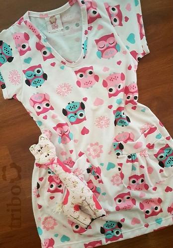 Camisola Infantil, com acessório Girafa