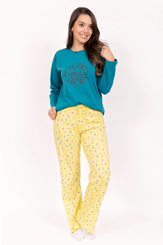 Pijama Mãe, de Inverno 100% Algodão, Estampas Divertidas, coleção mãe e filha.