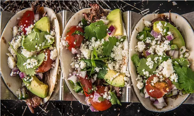BBQ Shreded Beef Tacos