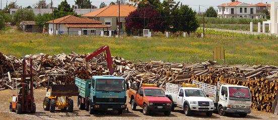 Καυσόξυλα Θεσσαλονίκη- Τρόποι μεταφοράς