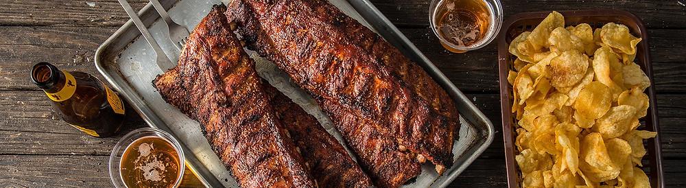Συνταγή μαγειρικής Hot & Fast Smoked  Baby Back Ribs