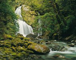 Stewart Creek Falls, Mt Aspiring
