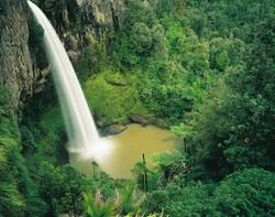 Bridal Veill Falls, Waikato