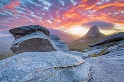 Sunset, Gog, Pegasus Wilderness