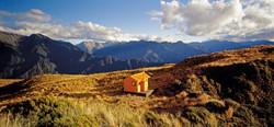 Mt Brown Hut, West Coast