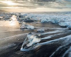 Ice Beach, Jökulsárlón