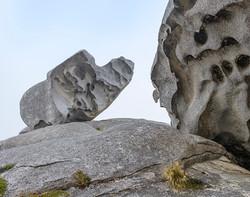 Rock formations, Bald Cone