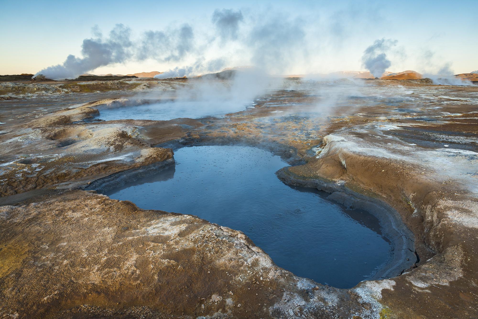Namafjall-Hverarond Geothermal Area