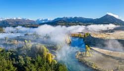 Autumn mist, Clutha River