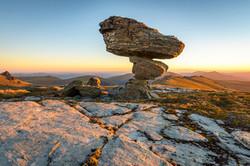 Rock tor, Garvie Mountains