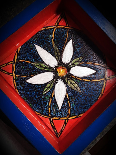 Original One-of-a-kind, Hand Painted Valet Tray