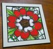 Tudor Rose on German Etching