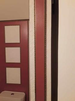 Door Frame, Barn Door and Wall