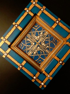 'House of Medici' Hand-Painted Valet Tray