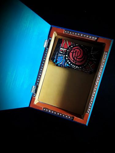 Hand Painted Bespoke Jewlery Box