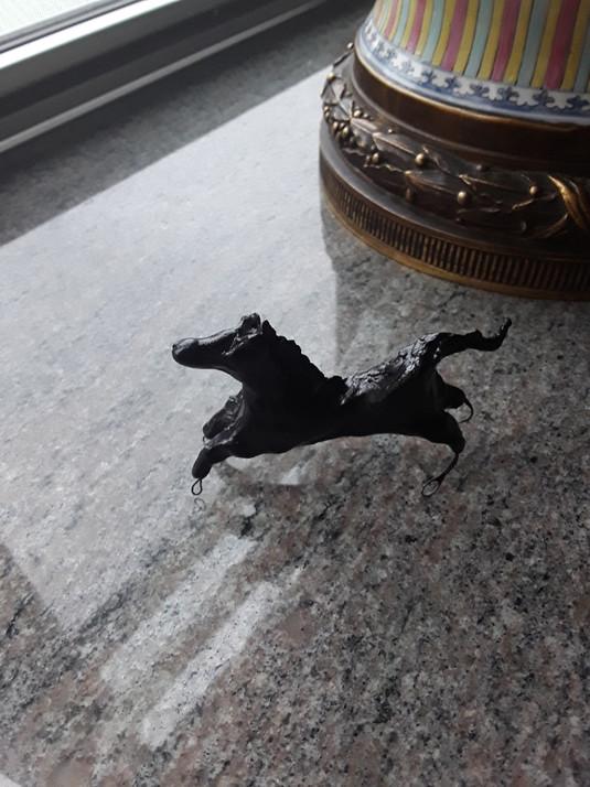 Handmade Clay Horses