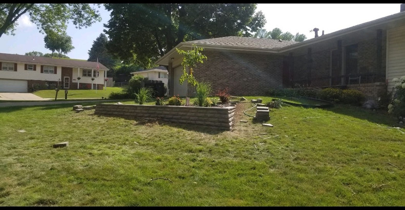 Sioux City Landscaper Projects J V Landscaping Usa