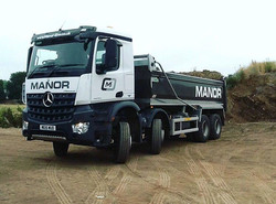 New Mercedes manor tipper