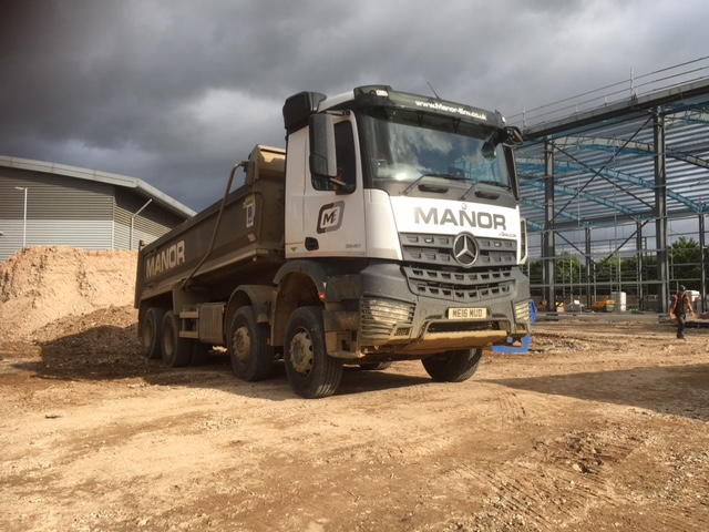 Manor Mercedes Tipper Lorry