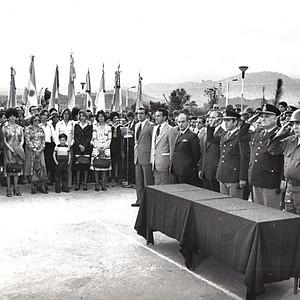 Inauguración Pueblo Capitán Cáceres