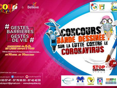 CONCOURS LUTTE CONTRE LE CORONAVIRUS!!