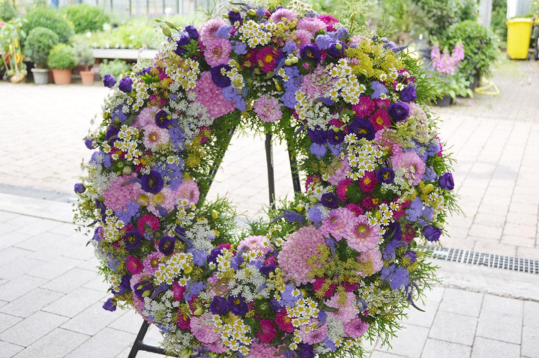 Beerdigungskranz