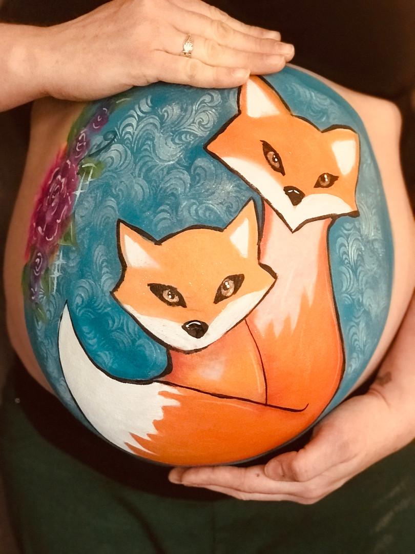 Fox Belly Bump