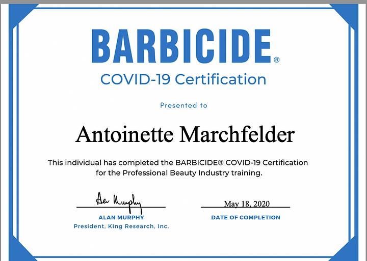 Covid Certifide