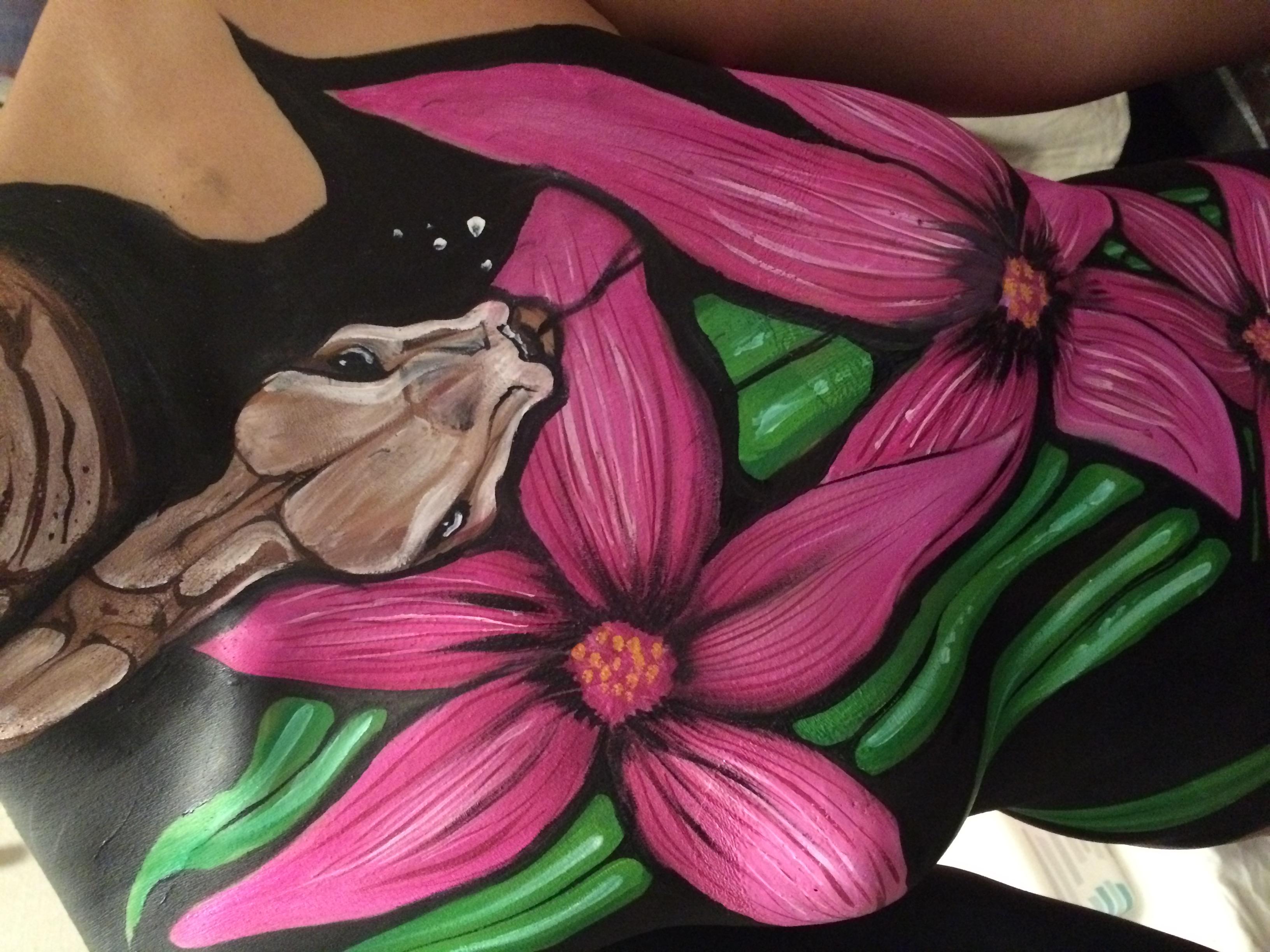 Boa Body Paint