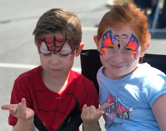 Spidey and Butterfly