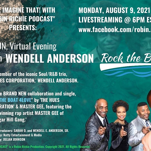 ROBIN RICHIE INTERVIEWS WENDELL ANDERSON OF THE HUES CORPORATION