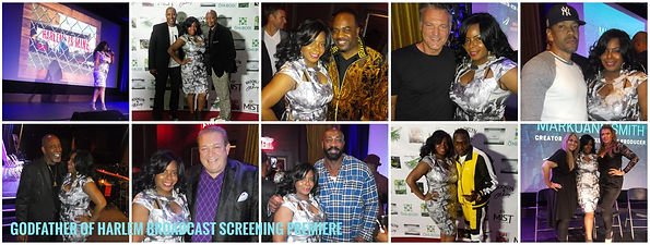 Godfather of Harlem Season 1 Screening Party NYC