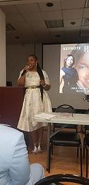 Our illustrious Keynote Speaker Dr. Barb