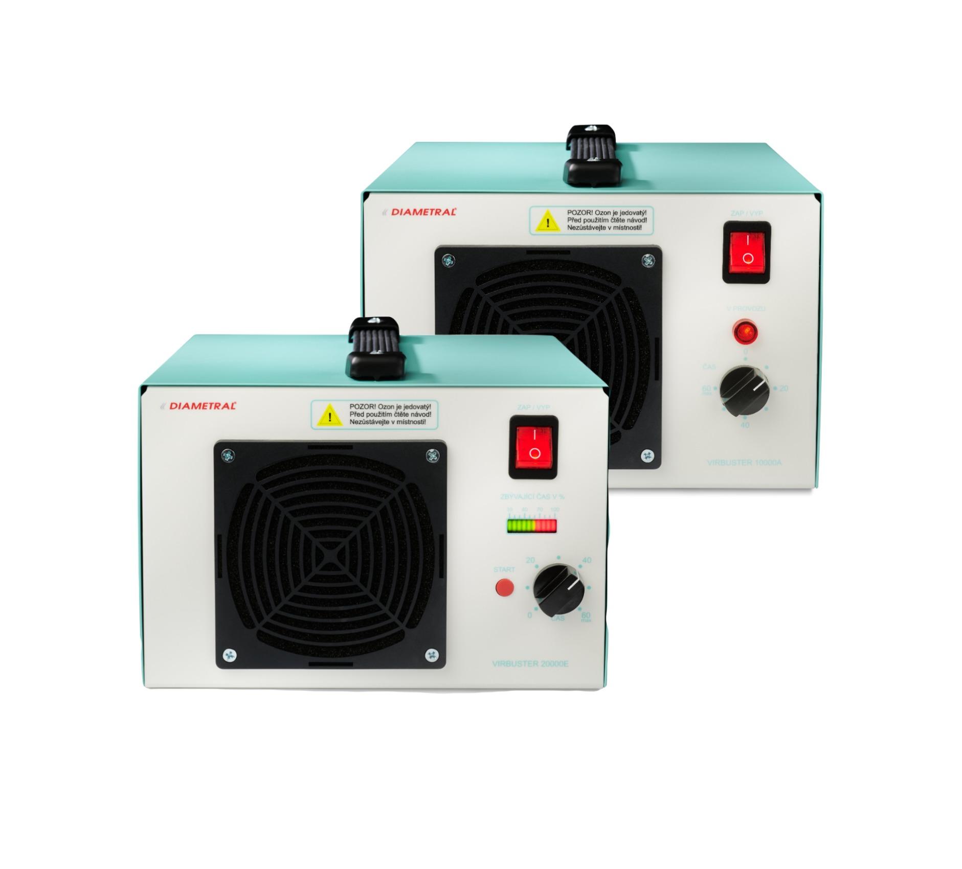 VirBuster generátor ozonu