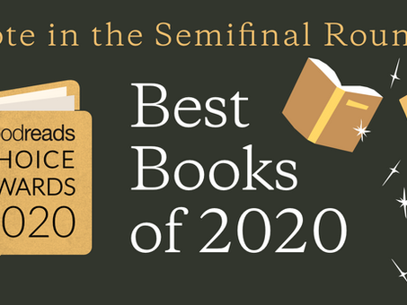 Vote for The First Sister in the 2020 Goodreads Choice Awards